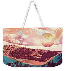 Coral Sky Weekender Tote Bag by Katherine Smit
