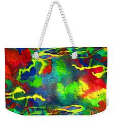 Coral Tides Weekender Tote Bag