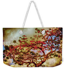 Coral Tree Weekender Tote Bag