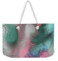 Coral, Turquoise, Teal Weekender Tote Bag
