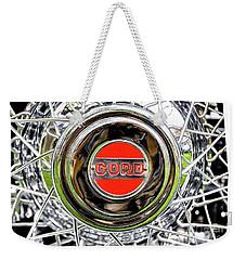 Cord Weekender Tote Bag