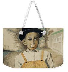 Corduroy Overalls,1942 -- Retro Portrait Of African-american Child Weekender Tote Bag