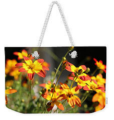 Campfire Fireburst Weekender Tote Bag by Living Color Photography Lorraine Lynch