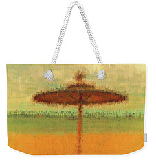Weekender Tote Bag featuring the photograph Corfu 18 - Mirage by Leigh Kemp