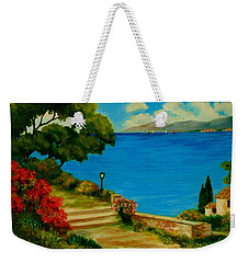 Corfu-greece Weekender Tote Bag