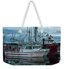 Weekender Tote Bag featuring the photograph Cork To Cork by Randy Hall
