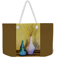 Weekender Tote Bag featuring the photograph Corkscrew Willows by Paul Wear