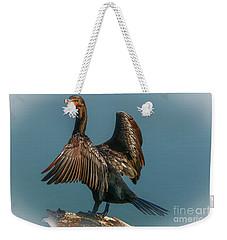 Cormorant Wings Weekender Tote Bag