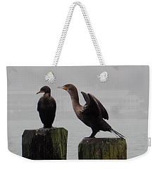Cormorants In Bellingham Weekender Tote Bag