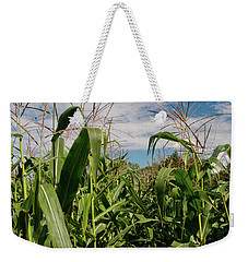 Weekender Tote Bag featuring the photograph Corn 2287 by Guy Whiteley