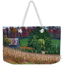 Corn And Ginseng On Poverty Hill Weekender Tote Bag