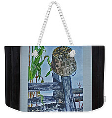 Corn Picking Time Weekender Tote Bag