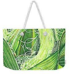 Corn Silk Weekender Tote Bag