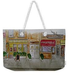 Cornelia Street In Greenwich Village Weekender Tote Bag by Afinelyne