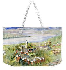 Cornell University Weekender Tote Bag by Melly Terpening