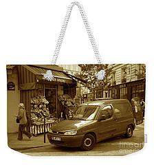 Corner Delivery Weekender Tote Bag