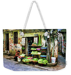 Corner Fresh Veggies Vietnam  Weekender Tote Bag