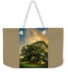 Weekender Tote Bag featuring the photograph Corner Oak by Marvin Spates