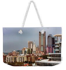 Corner Of Downtown Dallas Weekender Tote Bag