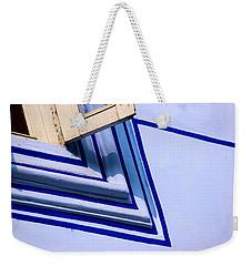 Cornering The Blues Weekender Tote Bag by Prakash Ghai