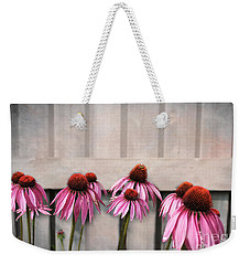 Coneflower Couples Weekender Tote Bag by Nina Silver