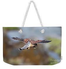 Cornish Kestrel Hunting Weekender Tote Bag
