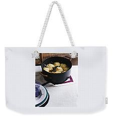Cornmeal Dumplings Weekender Tote Bag