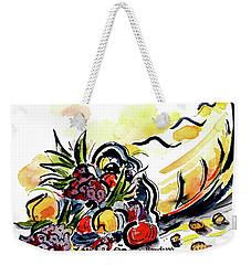 Cornucopia Weekender Tote Bag