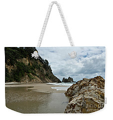 Coromandel, New Zealand Weekender Tote Bag by Yurix Sardinelly