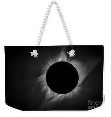 Corona During Total Solar Eclipse Weekender Tote Bag