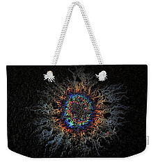 Weekender Tote Bag featuring the photograph Corona by Mark Fuller
