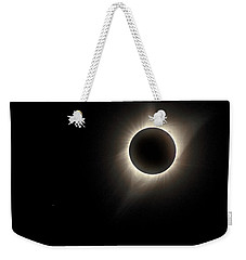 Weekender Tote Bag featuring the photograph Corona by Rikk Flohr