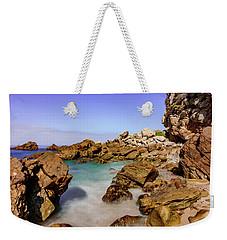 Corona Tide Pools Weekender Tote Bag by Jeremy Farnsworth