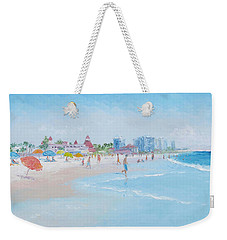 Coronado Beach San Diego Weekender Tote Bag by Jan Matson