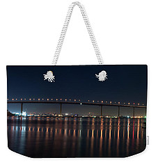 Coronado Bridge San Diego Weekender Tote Bag