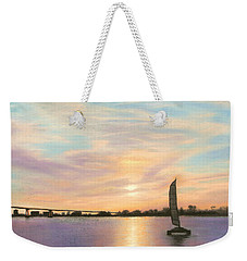 Coronado Bridge Sunset  B Weekender Tote Bag