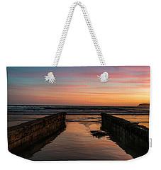 Coronado Pier Remains Sunset Weekender Tote Bag