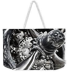 Corsair F4u Engine Weekender Tote Bag by Bryan Keil