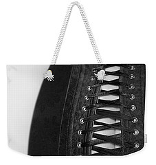 Weekender Tote Bag featuring the photograph Corset #20080 by Andrey  Godyaykin