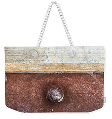 Corten And Concrete Weekender Tote Bag by Stan  Magnan