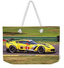 Corvette 3 Garcia Magnussen Weekender Tote Bag