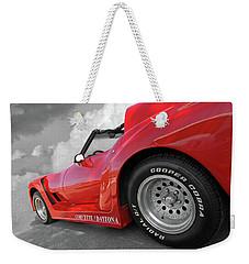 Corvette Daytona Weekender Tote Bag by Gill Billington