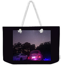 Weekender Tote Bag featuring the photograph Cosmic Beetle 8 by Carolina Liechtenstein