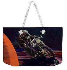 Cosmic Cafe Racer Weekender Tote Bag