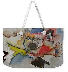 Cosmic Dance Weekender Tote Bag
