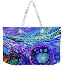 Cosmic Encounter Weekender Tote Bag