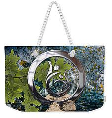 Cosmic Energy Weekender Tote Bag