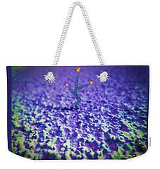 Cosmic Flower Weekender Tote Bag