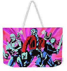 Cosmic Guardians Of The Galaxy 2 Weekender Tote Bag