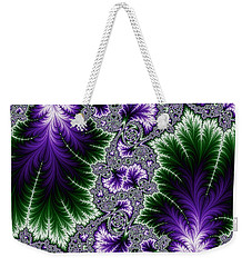 Cosmic Leaves Weekender Tote Bag